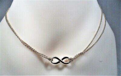 d5062c14c Tiffany & Co Sterling Silver Infinity Knot Rolo Link 16