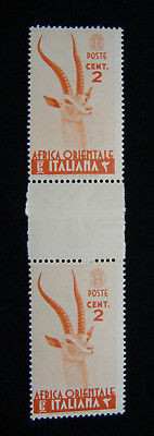 (Lot 209) AFRICA ORIENTALE IT cent. 2 Varietà Ponte MNH (1938) CV€ 10,00