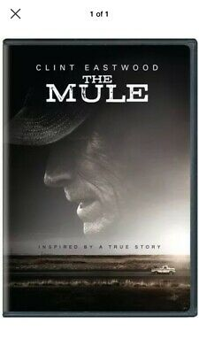 The Mule (DVD, 2019) BRAND NEW - FREE FAST SHIPPING!!!