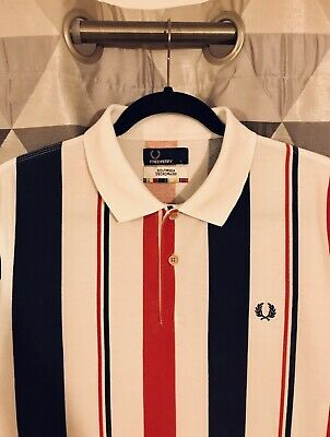 68bf37bf FRED PERRY MADE IN JAPAN polo shirt Limited edition Size Large ...