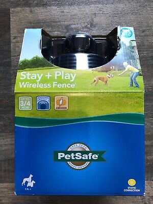 PetSafe Stay and Play Rechargable Pet Wireless Dog Fence PIF00-12917 *FREE SHIP*