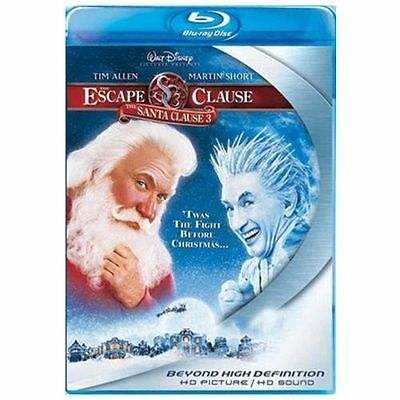 The Santa Clause 3 - The Escape Clause [Blu-ray] DVD, Martin Short, Alan Arkin,