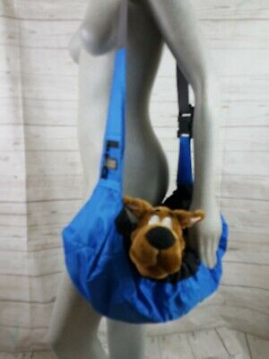 Outward Hound Pooch Pouch Sling Travel Small Dog Blue Comfort Carrier Bag