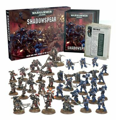 Warhammer 40k Shadowspear Boxed Set **New in Wrap**