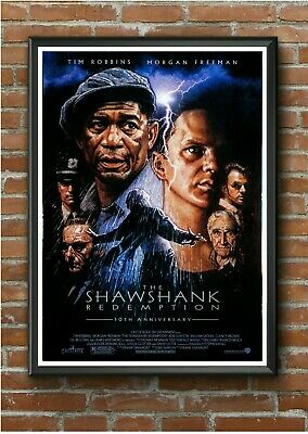 """Classic """"Shawshank Redemption"""" 1990's Movie Film Poster Print Picture A3 A4 A5"""