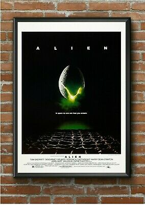 Alien Classic 1980's Movie Film Poster Print Picture A3 A4 A5 - High Quality