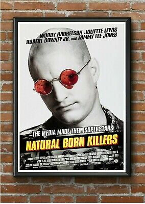 Natural Born Killers Classic 1990's Movie Film Poster Print Picture A3 A4 A5