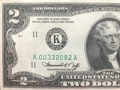 USA $2 Dollars 13¢ April 13 1976 Friendship WI First Day Cancel Stamp Banknote