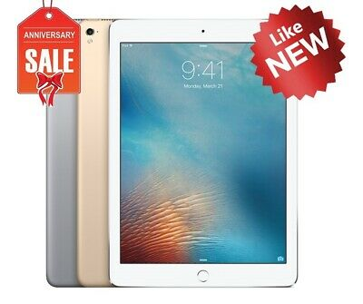 "Apple iPad Pro 1st 12.9"" Wifi or Cellular, Gray Silver Gold - 32GB 128GB 256GB"