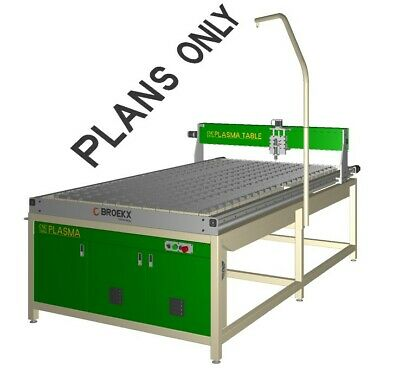 CNC PLASMA TABLE DIY PLANS 8'x4' (2450x1250)