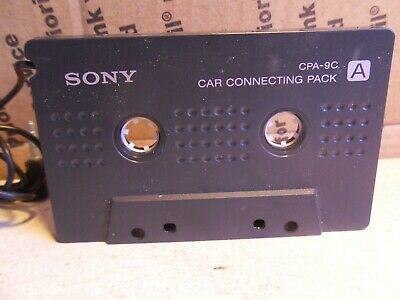 Vintage Sony Walkman Car Connecting Pack Cassette Adapter Cpa-9C