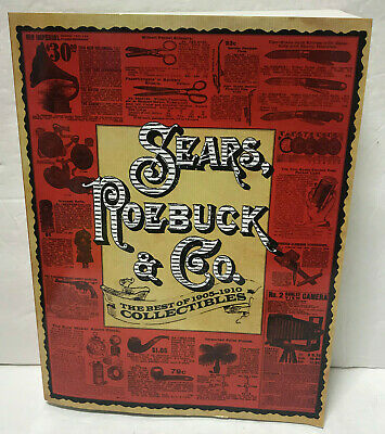 Sears Roebuck & Co The Best of 1905-1910 Collectibles Catalog Facsimile 2011 New