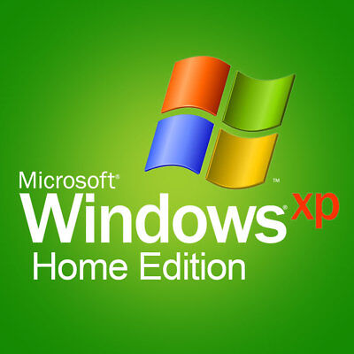 Windows XP Home Edition Service Pack 3 ISO 32/64bit English NO LICENSE KEY