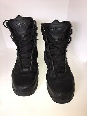 e3982315798 INTERCEPTOR CANTON BLACK Leather And Mesh Tactical Boot Mens Size 11 ...