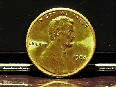 1984 Lincoln Memorial Penny Double Ear Error Variety Strong Strike !!!