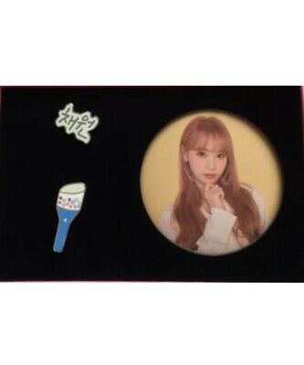IZ*ONE IZONE 1st Concert EYES ON ME in Seoul Official KIM CHAEWON Pin&Can Badge
