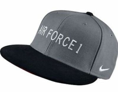 d8a529016 NIKE AIR FORCE 1 Snapback Hat Flannel Wool Brown Black White Red ...