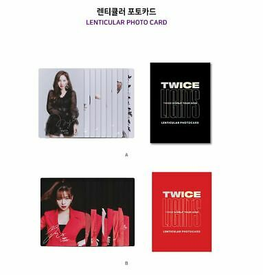 Twice World Tour 2019 Twicelights Official Goods A+B Lenticular Photo Card Set