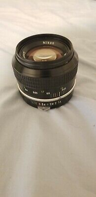 NIKON NIKKOR 50mm F/1.4 MF Prime F Mount