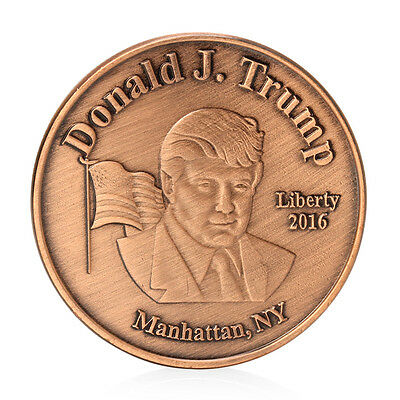 Donald Trump 45Th US President Commemorative Challenge Coin Collection Token