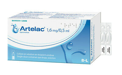 Gouttes Yeux Artelac collyre 60x0,5 ML Bausch + Lomb