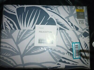 2 Sets of bedding NEXT Astrid Floral Twinpack Bedsets SINGLE BNIP RRP £32