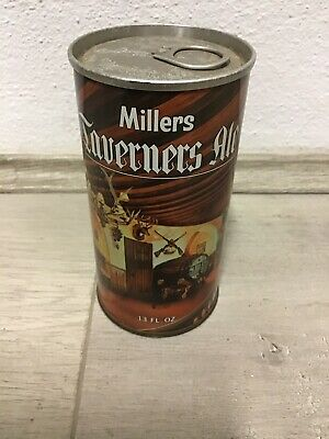 Rare Millers Taverners Ale Beer Can 13 FL OZ Straight Steel Tooheys Limited Tin