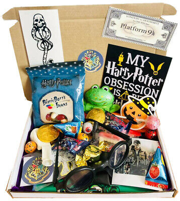 Harry Potter Personalised Sweets Gift Box Hamper and Hogwarts Acceptance Letter
