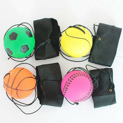 Soccer Football Kick Throw Trainer Solo Practice Training Aid Kids Control RE