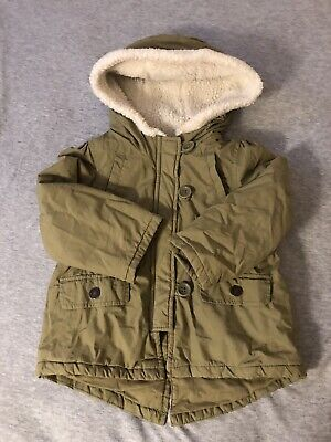 Baby Gap Jacket Green With Hoodie Size 18-24 Months