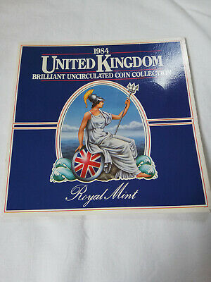 1984 United Kingdom Uncirculated 8 coin collection set - fabulous condition