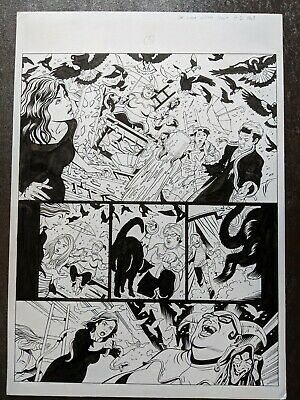 Doctor Who Comic book Original Art page Twelfth DR DWM BBC Witch Hunt pt 3 pg 3