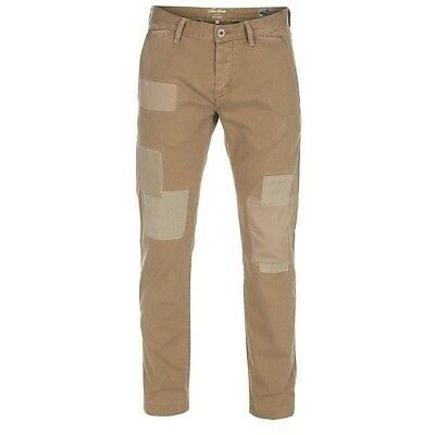Paul Smith Herren Patchwork Chino Stoff Hose | Slim Fit | W29 L34 | UVP*195€