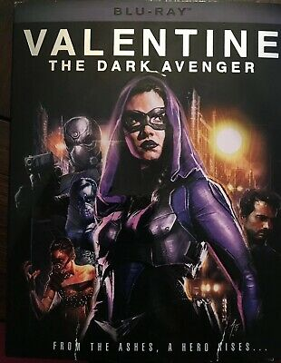 Valentine: The Dark Avenger BLU RAY + SLEEVE Very Good Scratch Free