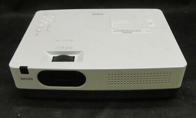 Sanyo PLC-XW200 VGA LCD Projector - Good Image - Lamp / Bulb Use - 1387 hrs