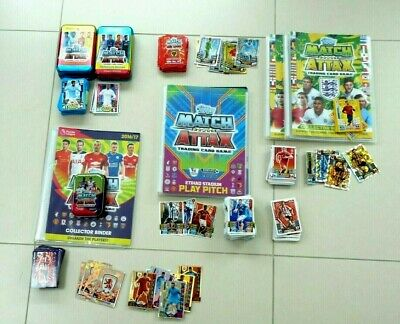 Match Attax :fantastic bundle - various seasons, over 410 cards - REDUCED PRICE