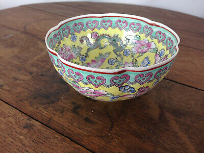 FINE CHINESE PORCELAIN THIN EGG SHELL BOWL And BOX SIGNED EGGSHELL CHINA #WH-1-1