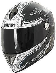 0b79018c SHARK RSI SHINTO LUMI Black Full Face Motorcycle Race Helmet SIZE M ...