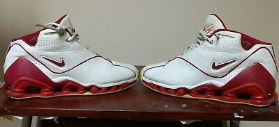 newest 74fcc dfd7a RARE DS Nike Shox TLX VC II Vince Carter White Red OG 2002 305078-161