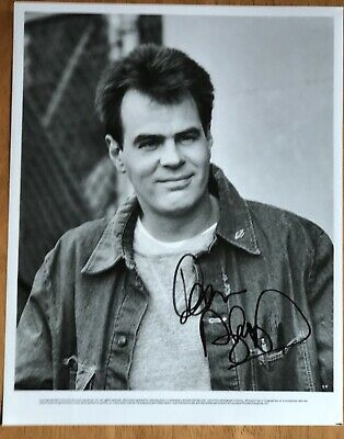 """Dan Aykroyd Autographed Photo from """"Ghostbusters"""""""