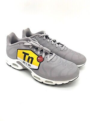 fa74906e3a Nike Mens 13 Air Max Plus TN Tuned Air NS GPX Big Logo Grey Shoes AJ7181