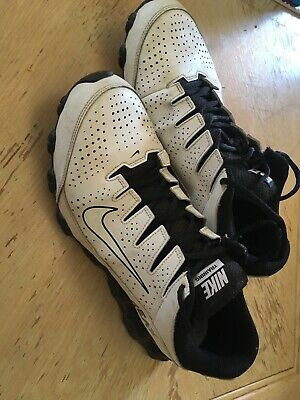 672ef87a24 Mens Nike Reax 8 TR Running Cross Training Shoes White 616272-100 Size 10.5
