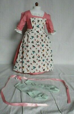 American Girl Felicity Apron /& Kerchief from Work Outfit NWOB