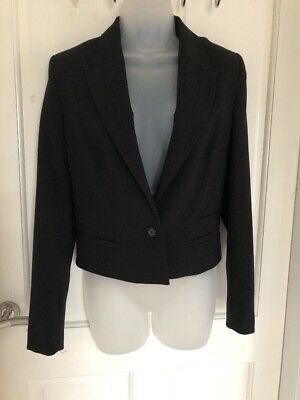 a905fd55cff8 FRENCH CONNECTION Winter Tallulah Wool-Blend Jacket, 4, Black ...