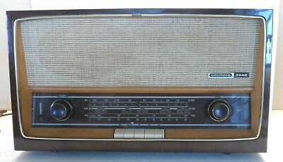 Grundig 2540 nice, new tubes, works fine,Shortwave BC (AM) FM PU/TR