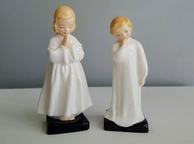Royal Doulton Figurines Bedtime HN 1798 & Darling HN 1985 EXCELLENT CONDITION