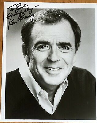 "Actor Ken Berry ""F Troop"" Autograph Photo"