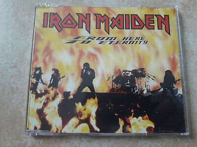 Iron Maiden From Here to Eternity Maxi CD Single EMI Europe 1992 rare OOP Live