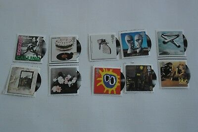 GB Classic Covers Stamps full set 2010 MNH from Minisheet MNH, valid for postage