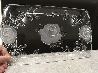Cristal D'arques Boutique*Lead Crystal Rectangular Tray